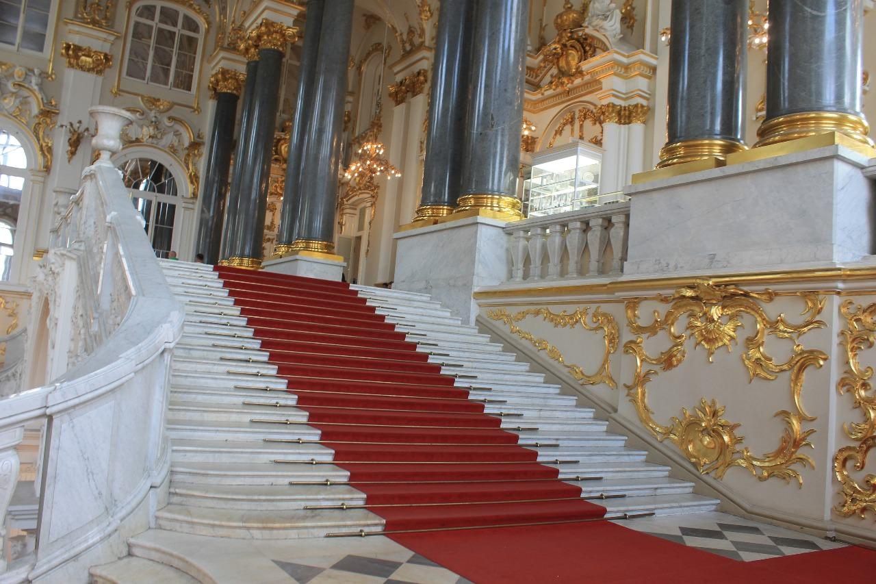 escalier d`apparat