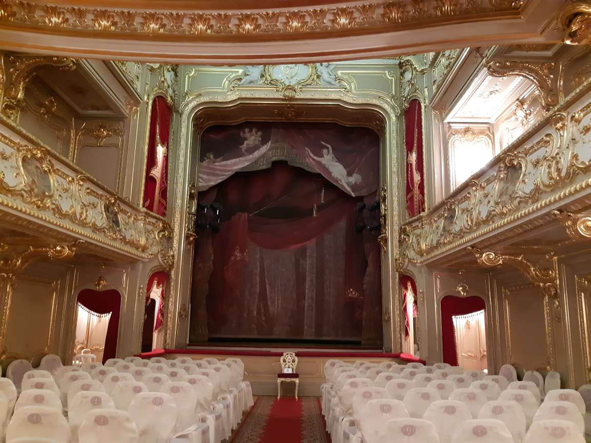 le palais youssoupov sur la moika