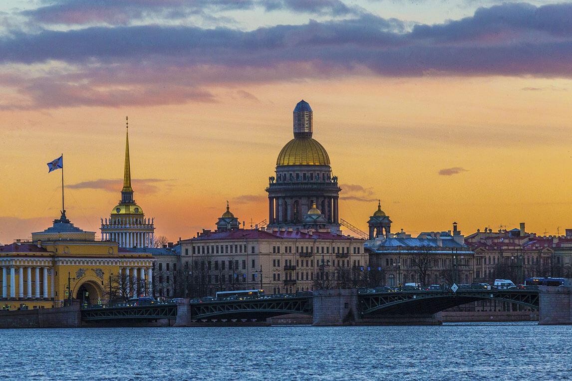 Panorama de Saint-Pétersbourg