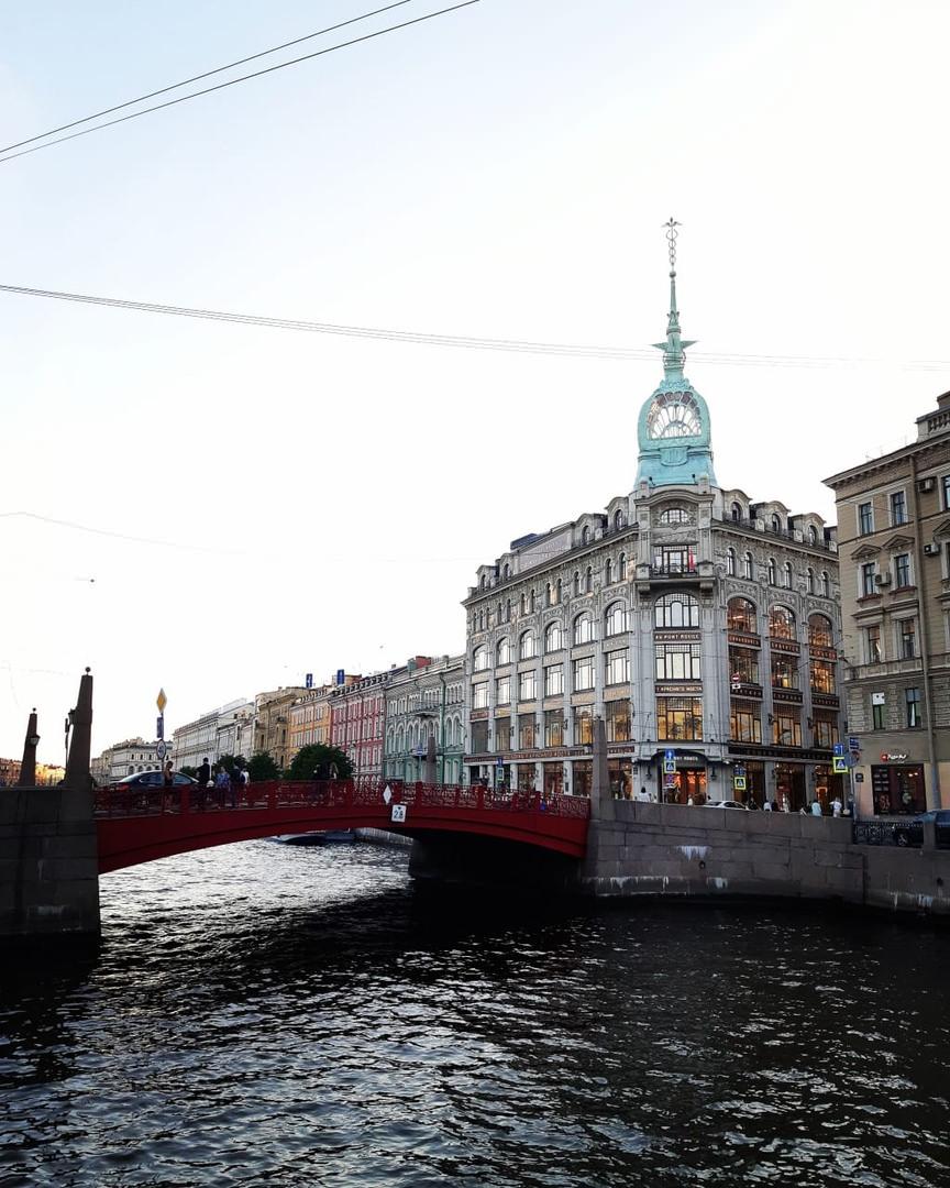 les vues de Saint -Petersbourg