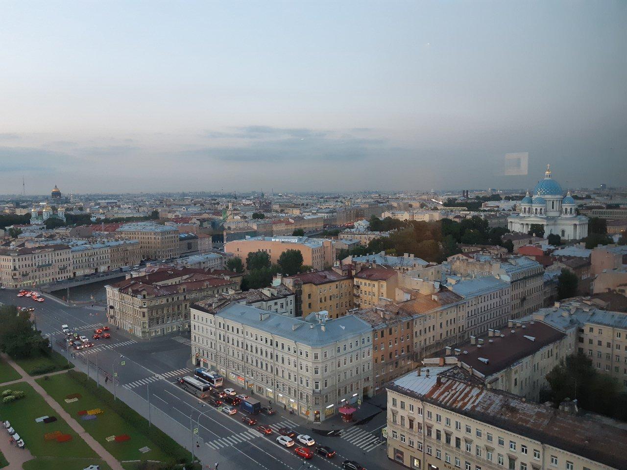 vue panoramique de st petersbourg
