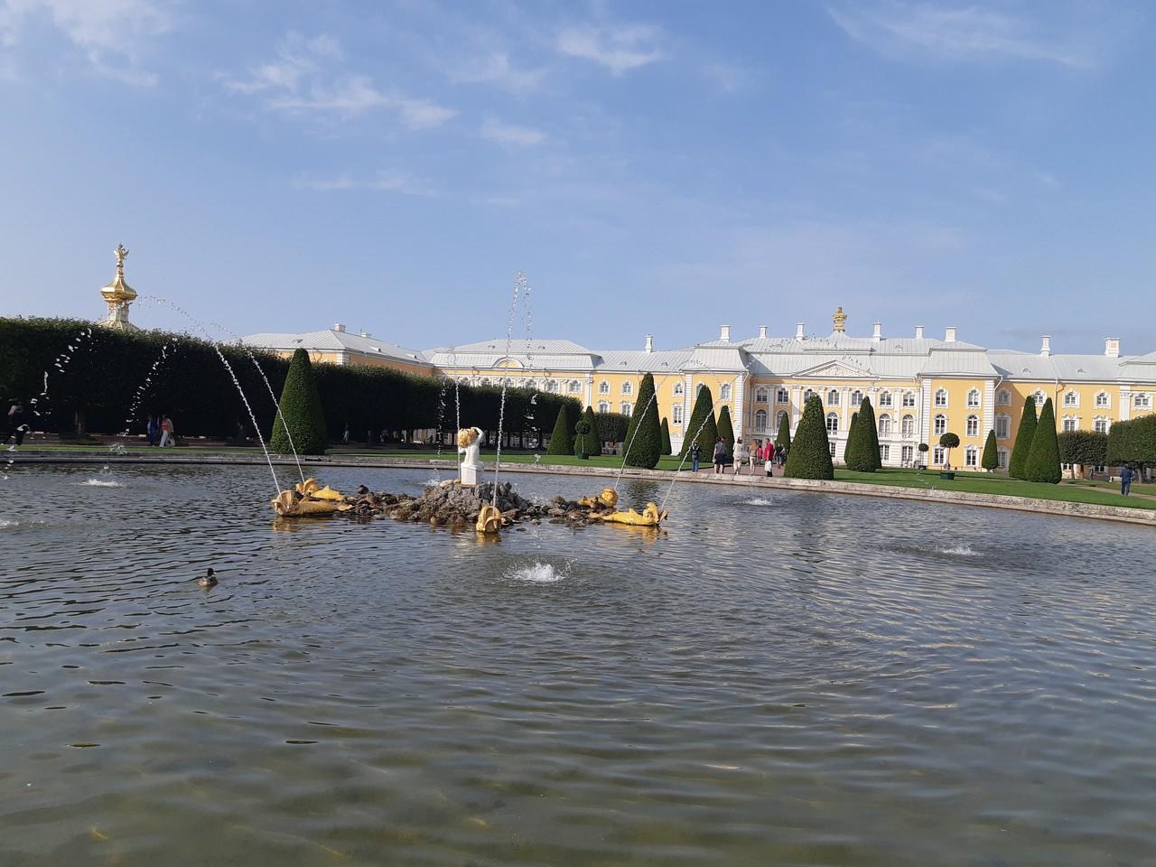 fontaine du jardin superieur
