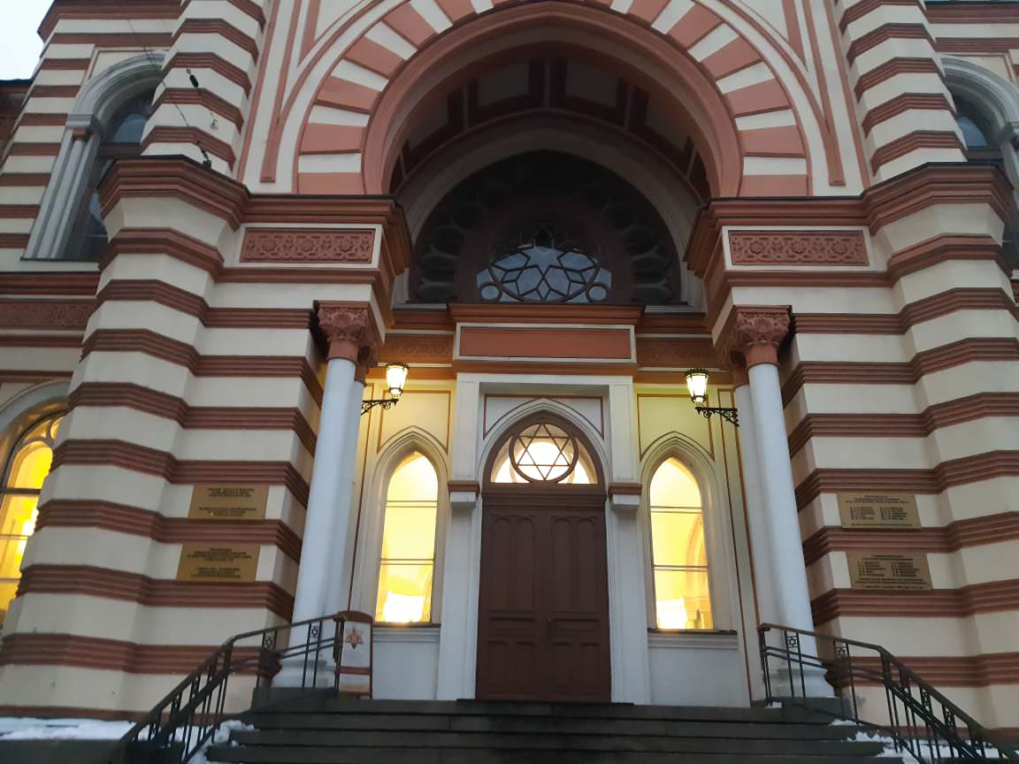grande sinagogue a saint petersbourg