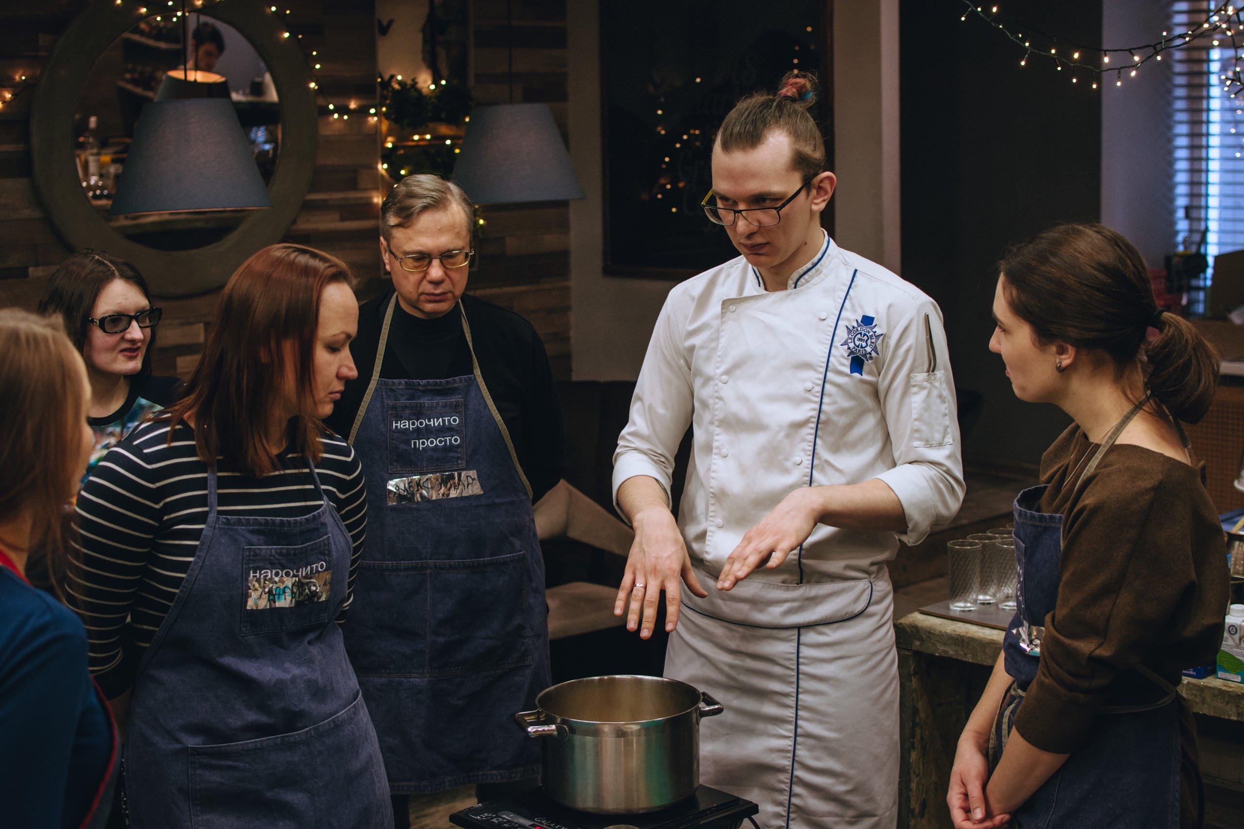 le chef de la cuisine