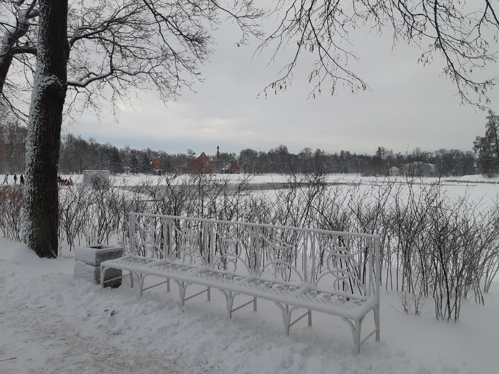 Le parc du palais de Catherine Tsarskoye selo ут ршмук