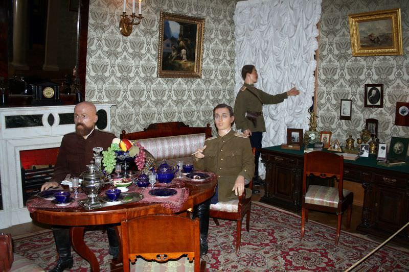le palais Youssoupov le cabinet de travail de Felix