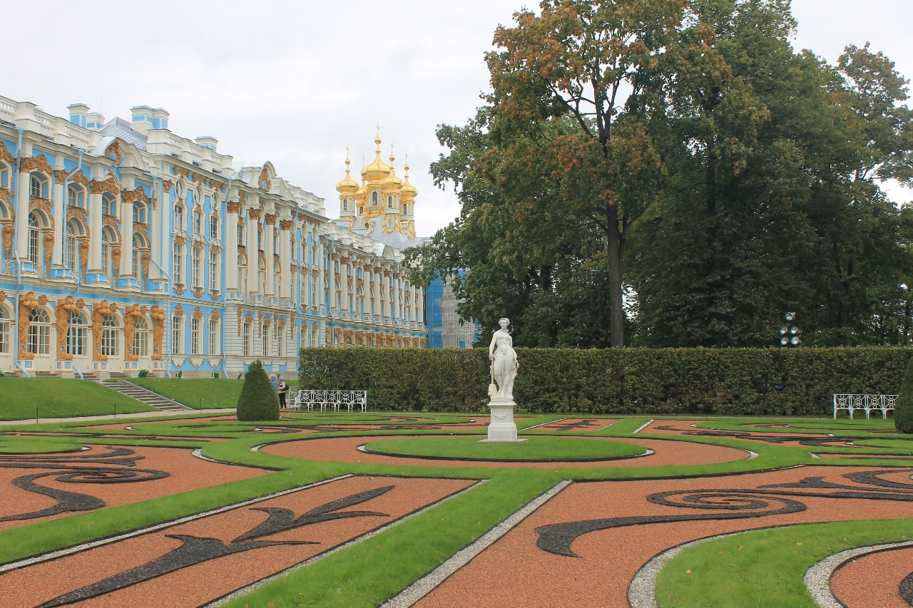 palais de carherine a tsarskoye selo