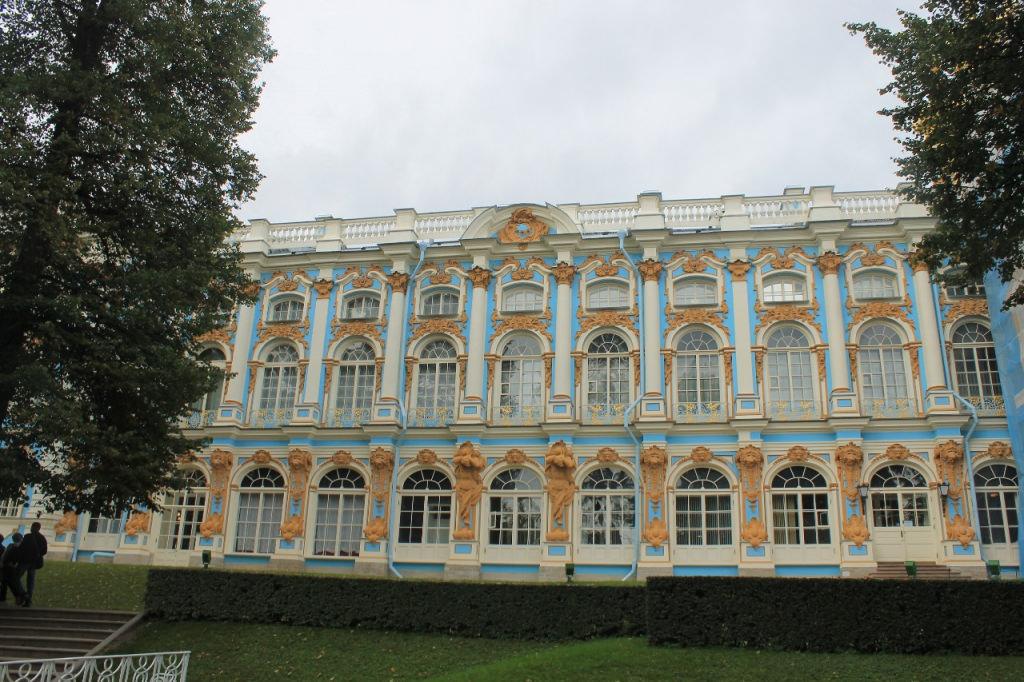 Palais de Catherine à Tsarskoïe Selo + Visite De La Chambre D'ambre