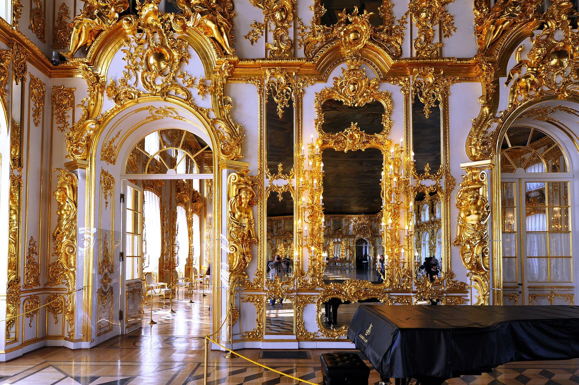 palais de catherine tsarskoye selo