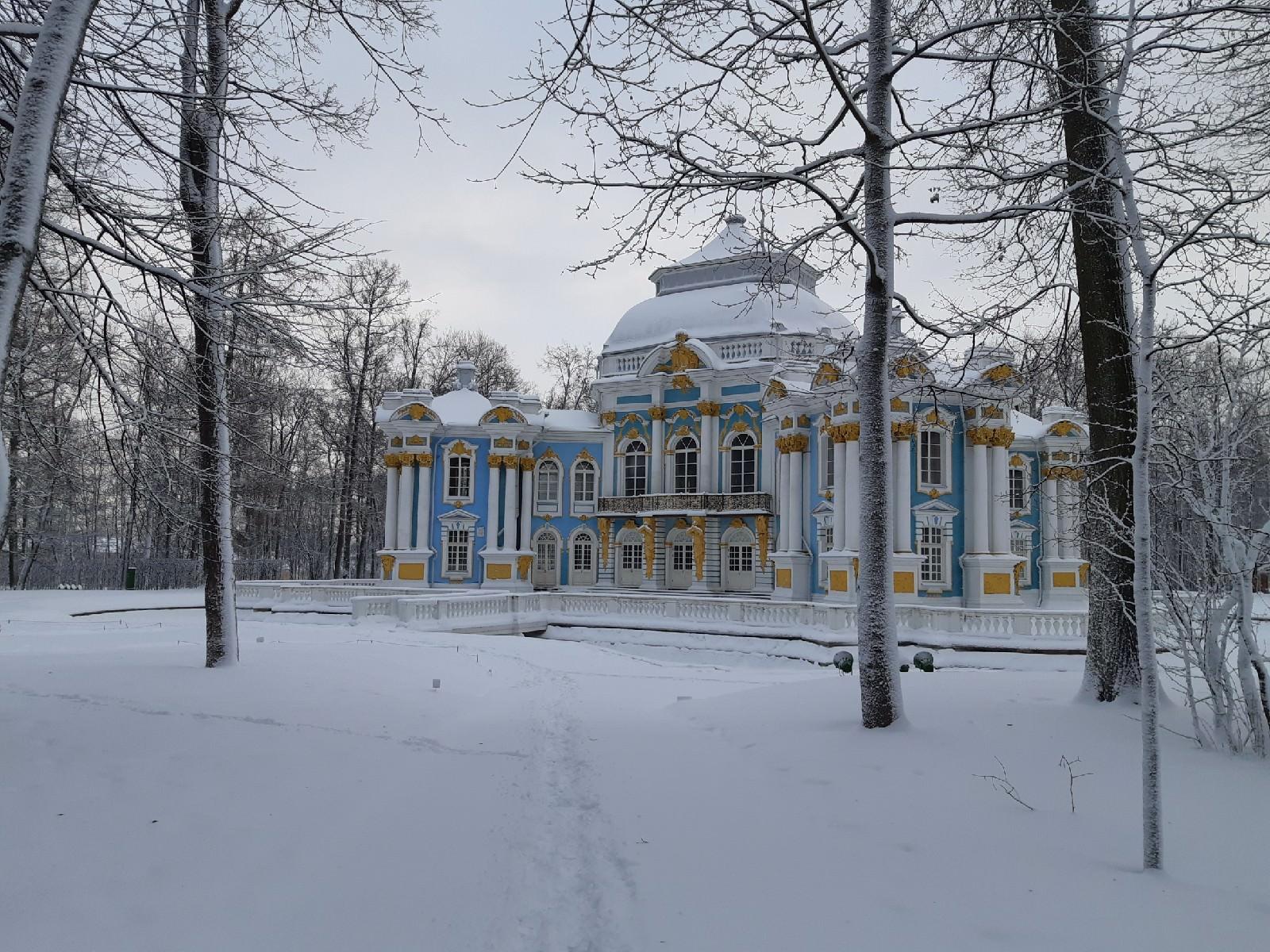 pavillon de l`ermitage tsarskoye selo