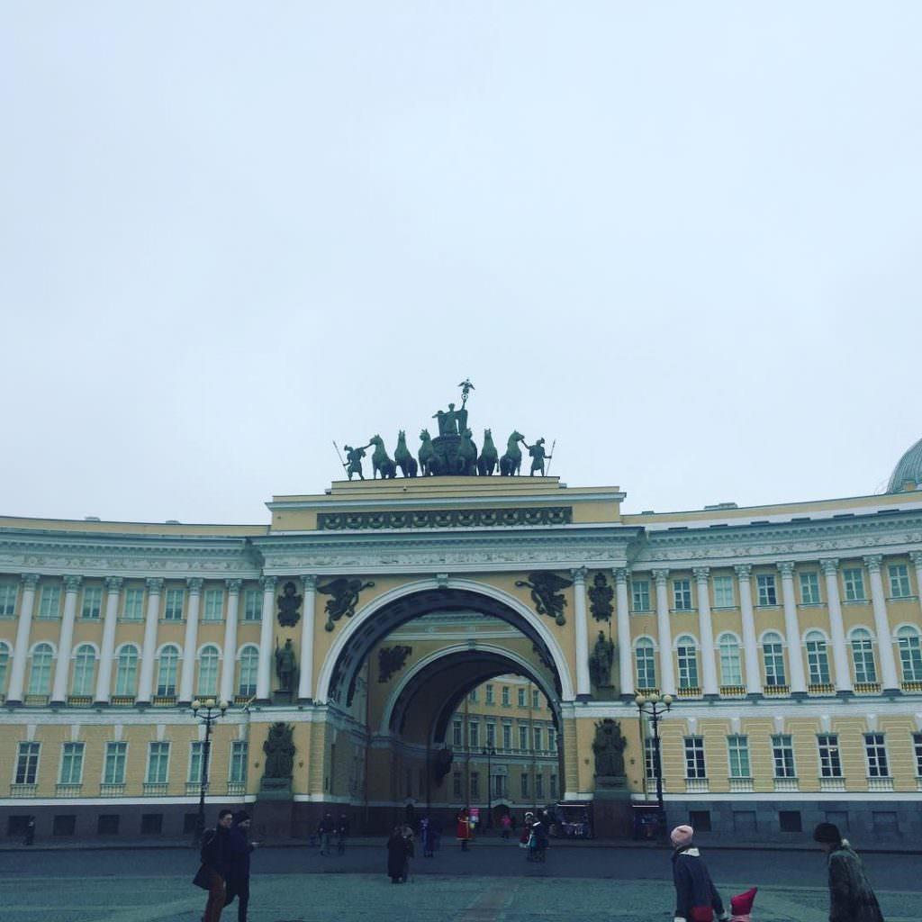 Le bâtiment de l'Etat-Major