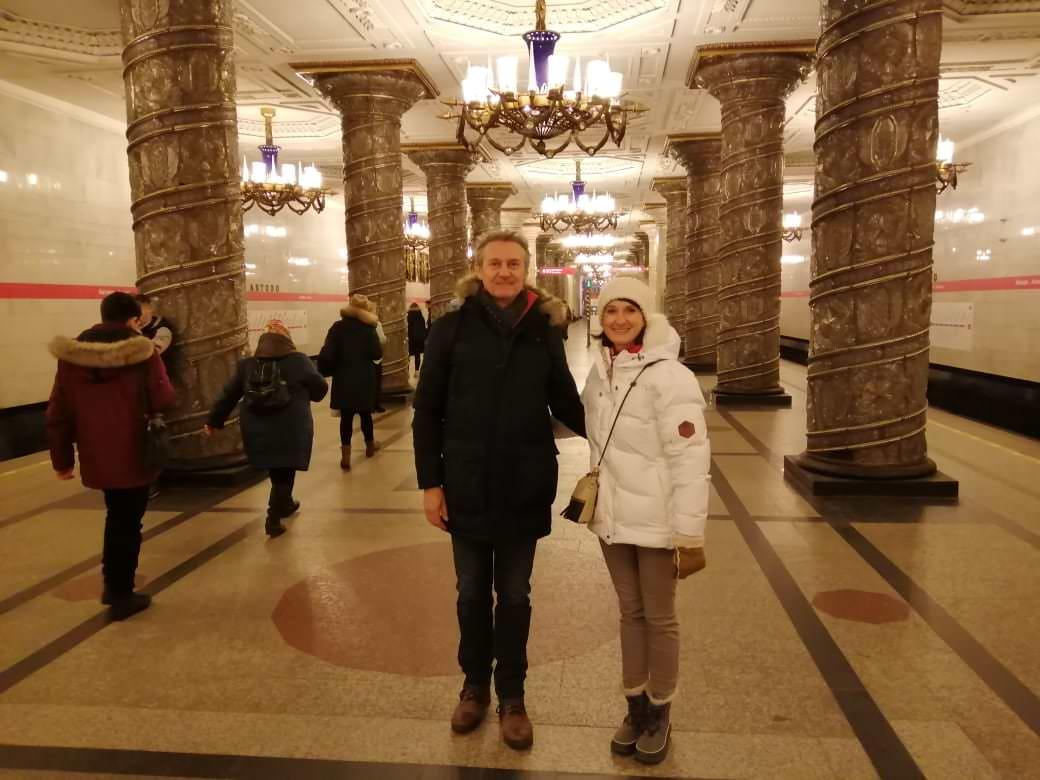 le metro de saint-petersbourg