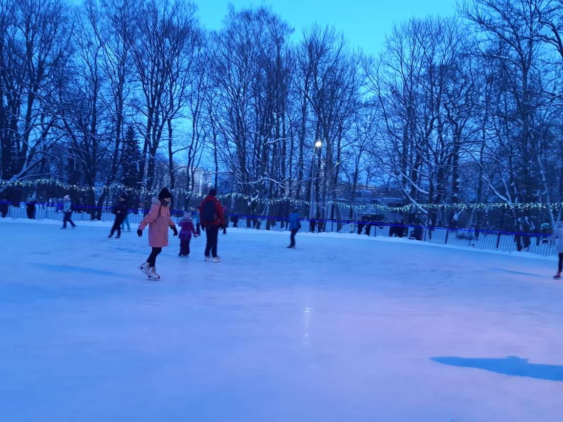 patinoire parc de kirov