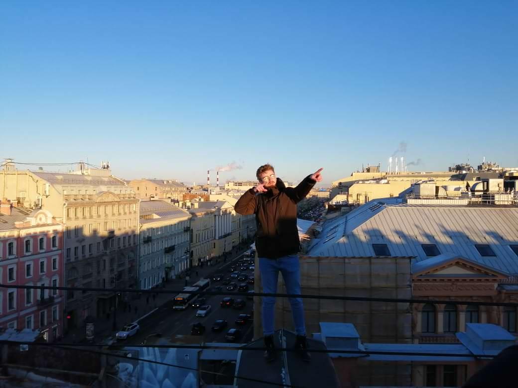 visite des toits de la ville